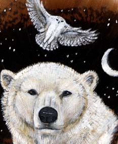 bear and owl