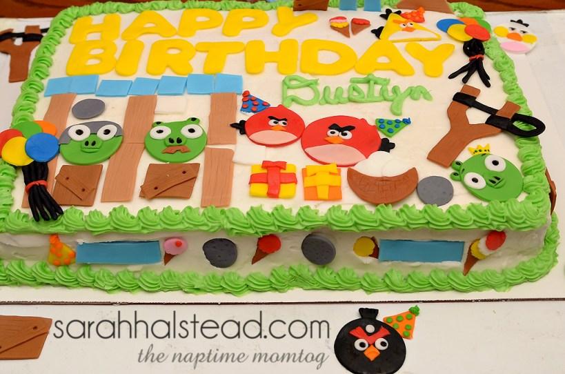 Angry Birds Birthday Smash | Food
