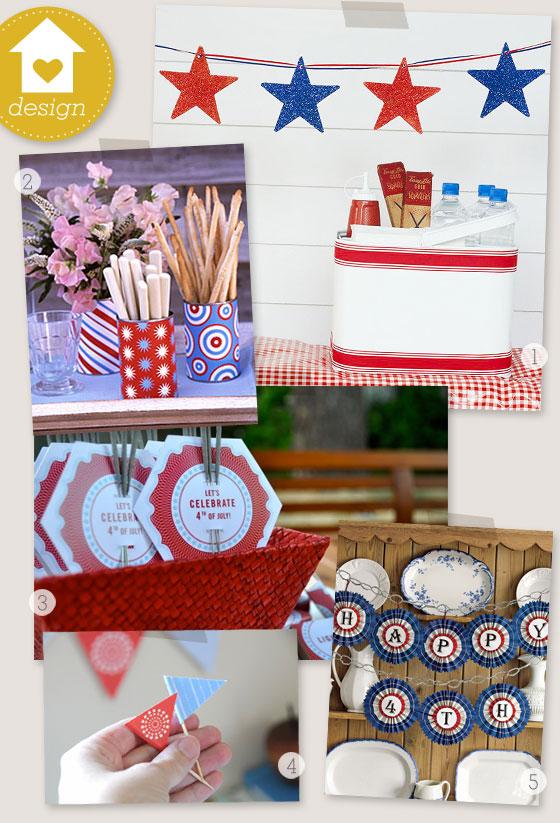 Diy 4th Of July Decorations Sarah Hearts