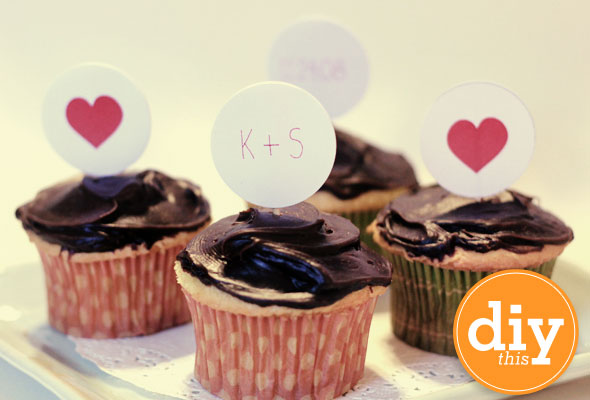 microsoft word cupcake topper template