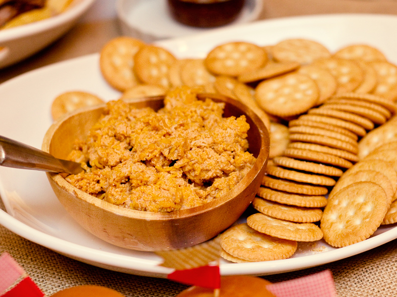 spicy smoked paprika cheese dip