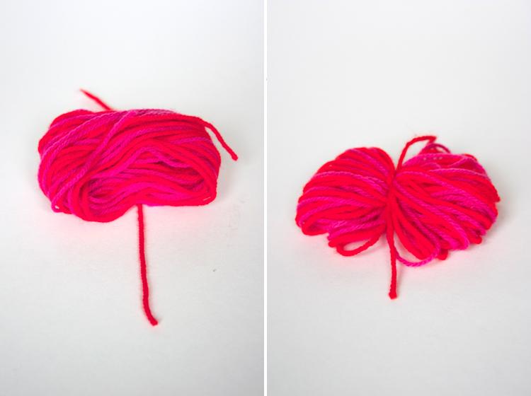 Pom Pom Beanie Refashion by www.onelittleminuteblog.com