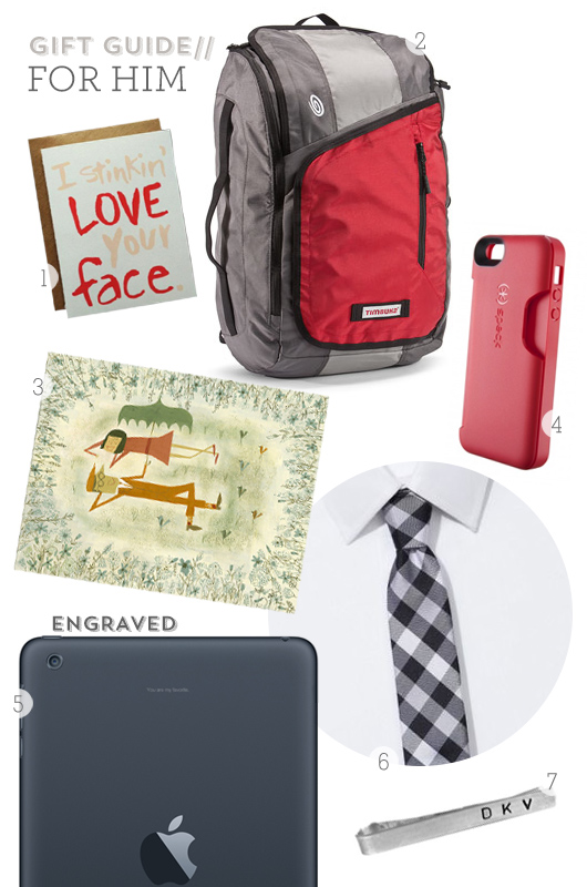 Valentine's Day Gift Guide for Him from Sarah Hearts