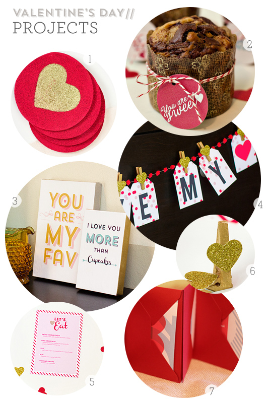 Valentine's Day DIY Projects from Sarah Hearts