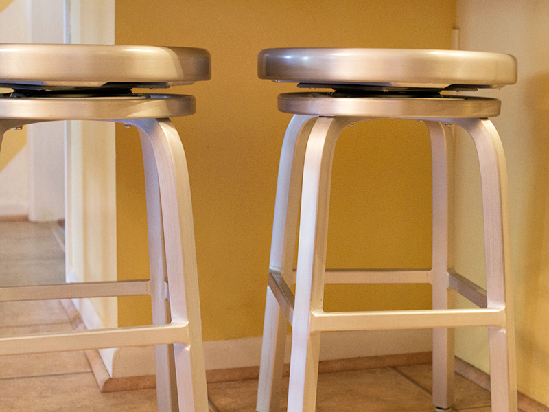 Win It // 2 Metal Spin Stools  #MSNhearts