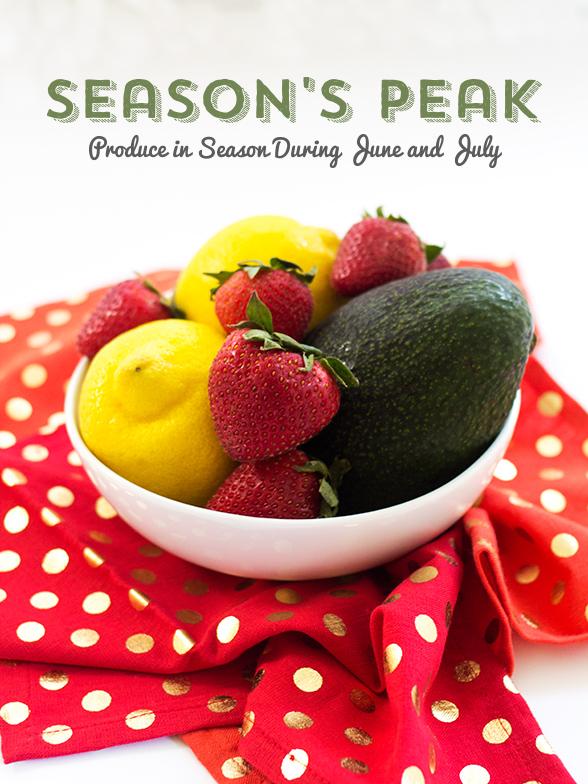 Printable Seasonal Produce Chart | Sarah Hearts for The Neighborhood #letsneighhor