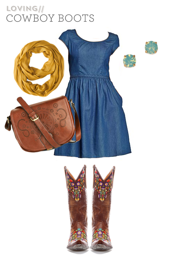 How to Wear Cowboy Boots | Sarah Hearts