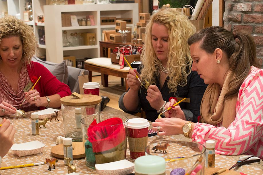 Meet + Make Holiday Workshop at West Elm Jacksonville