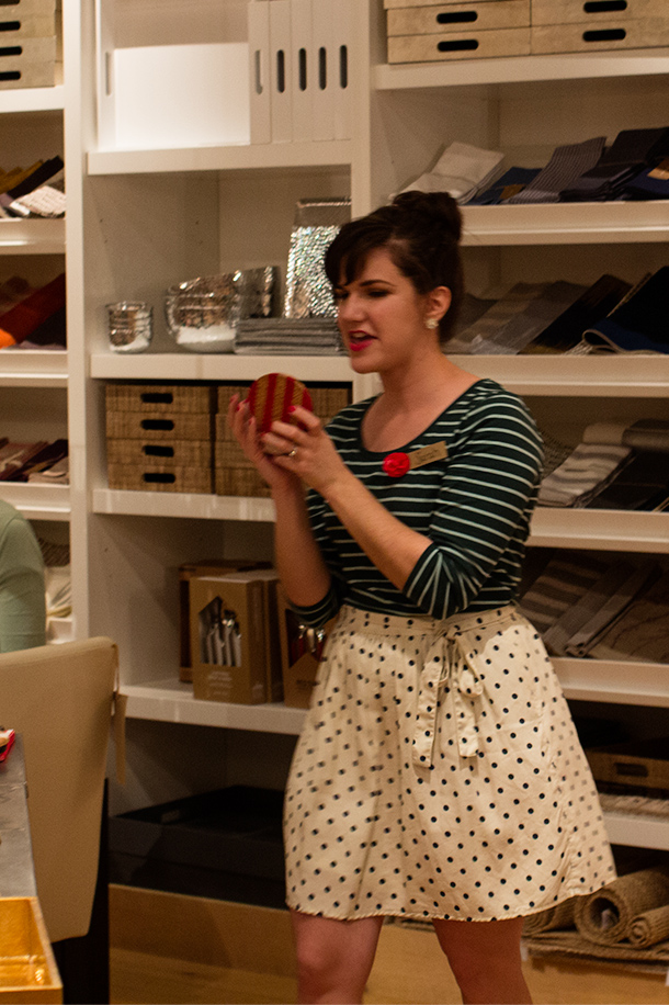 Meet + Make Holiday Workshop Hosted by Sarah Hearts at West Elm Orlando