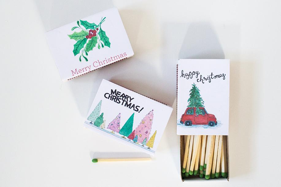 Meet + Make Sponsor Kathryn Godwin Christmas Magnetic Matchboxes