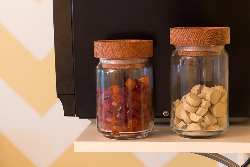 House Tour: Pretty Storage for Vitamins