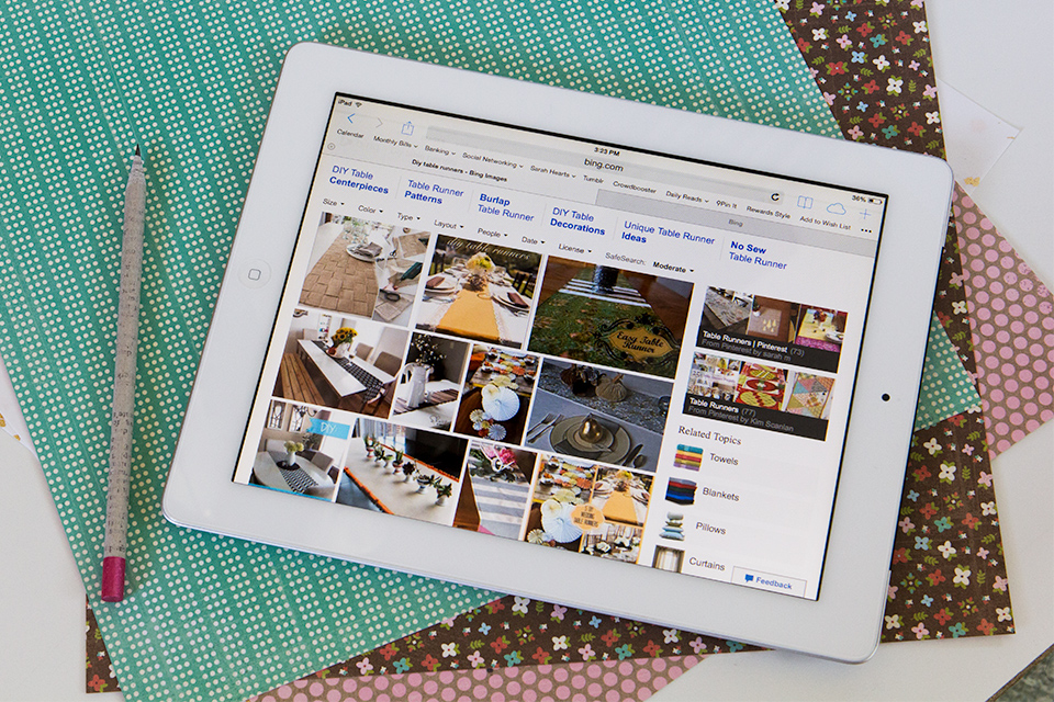 Finding DIY Project Inspiration with Bing Rewards