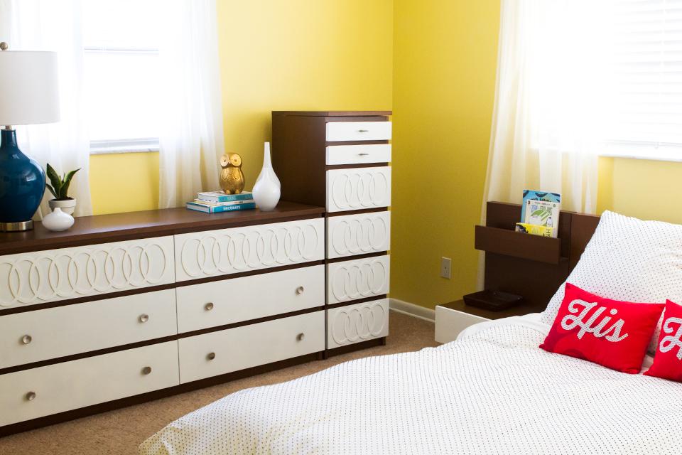 DIY Ikea Hack: Turn a Malm dresser into a mid-century modern piece