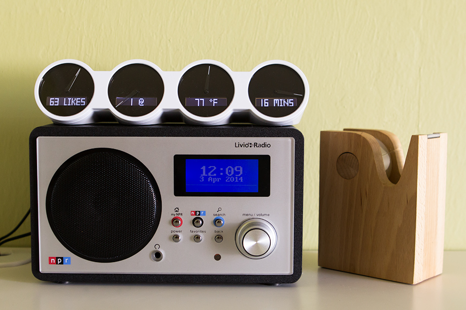 A wifi NPR radio that gets every station in the country. A must for NPR fans!