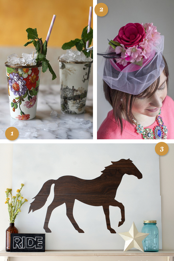 It's not too late to throw the perfect Derby party! Here are some great ideas to make the event special.
