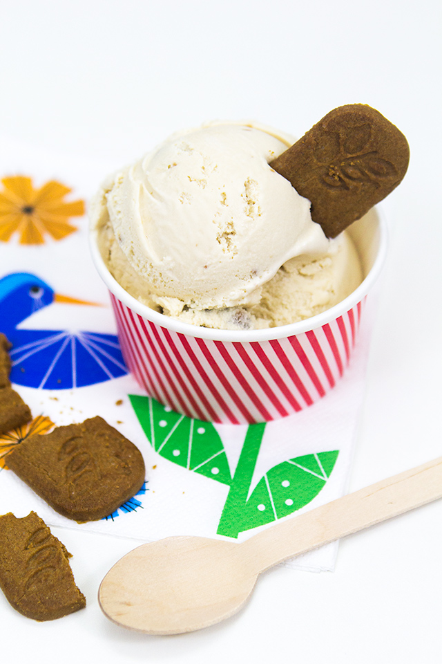 If you love Trader Joe's Cookie Butter than you have to try making this homemade cookie butter ice cream!