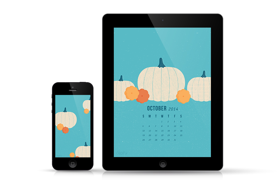 Loving this free white pumpkin wallpaper. It makes me so excited for fall!