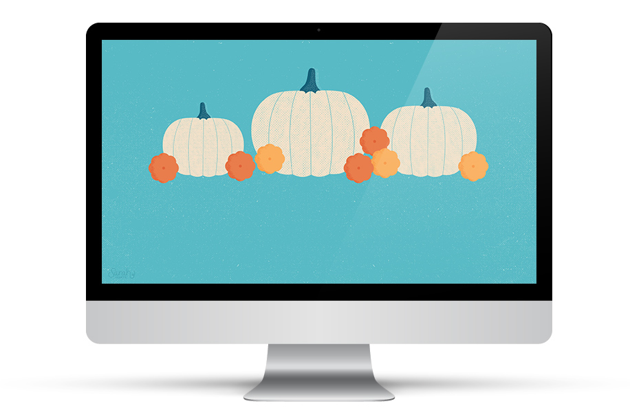 Love this adorable white pumpkin wallpaper! Perfect for all my devices for fall.