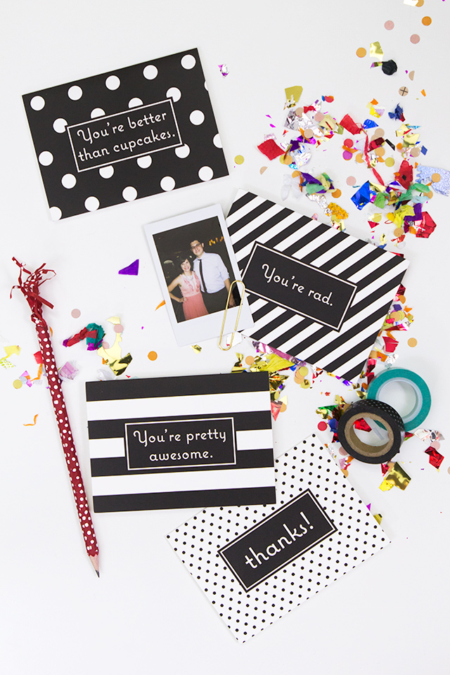 Don't wait until holidays to celebrate your friends. Surprise someone with a handwritten thank you note!
