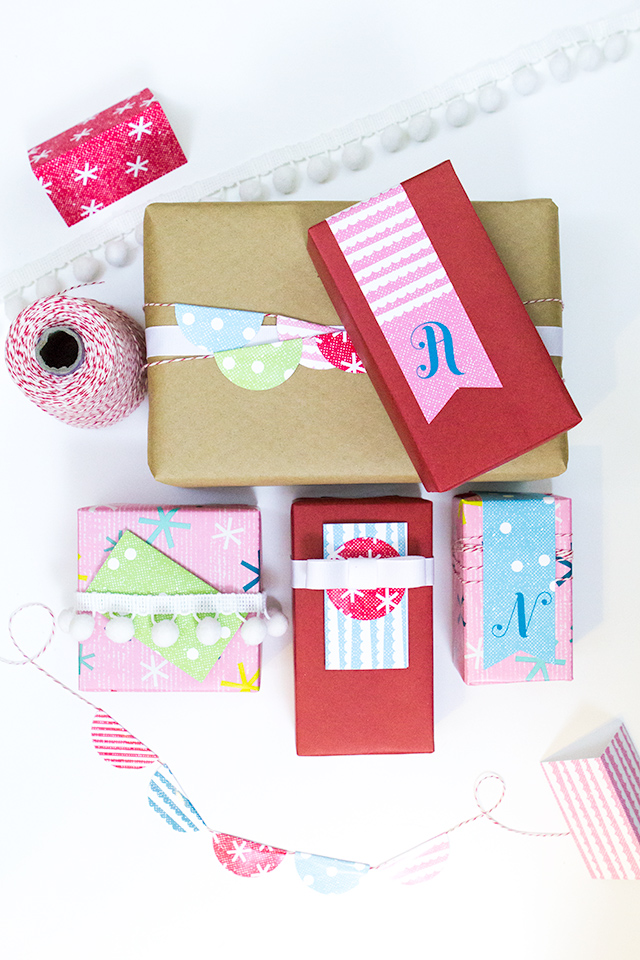 Loving these bright and cheerful free printable gift tags. They are perfect for Christmas and can be used year round!