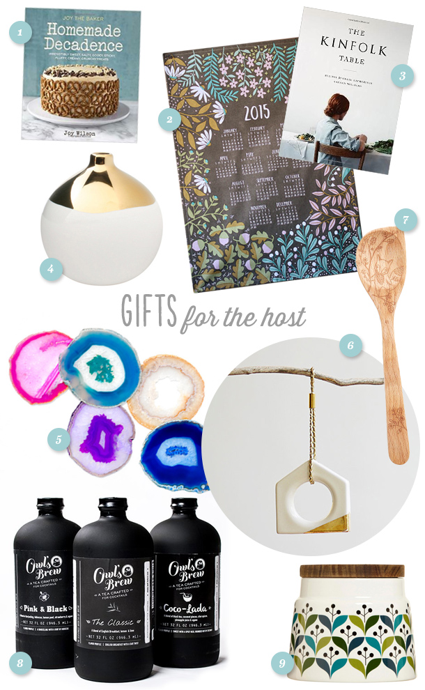 Not hosting this Christmas? Be sure to bring a host/hostess gift! Here are some great ideas in every price range.
