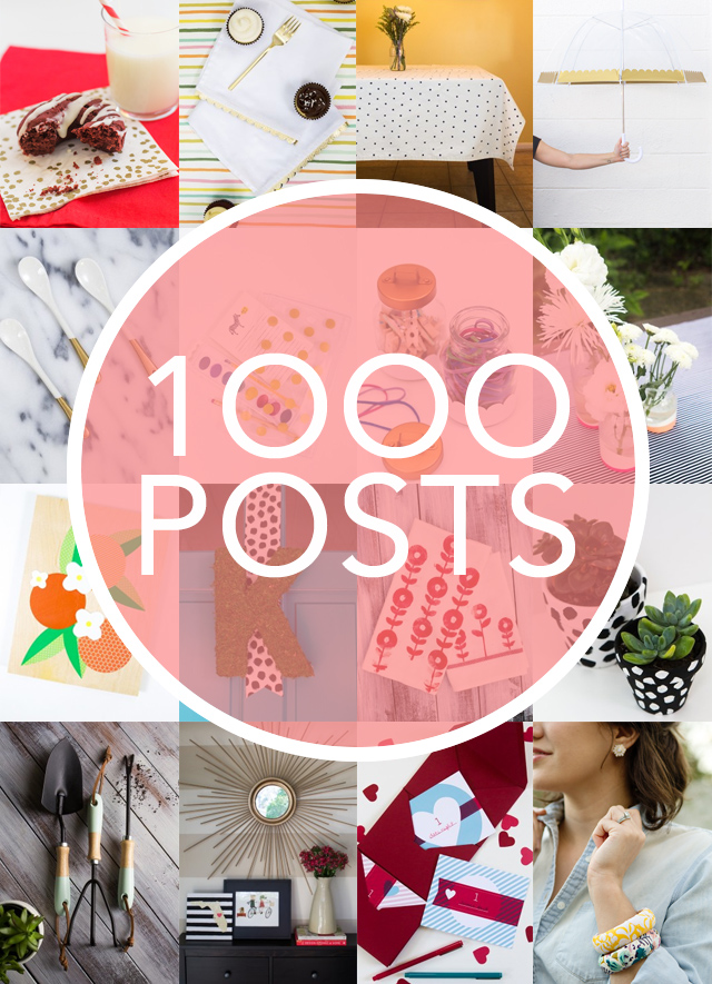Sarah Hearts recaps her the most popular posts of all time and shares insight about blogging full-time