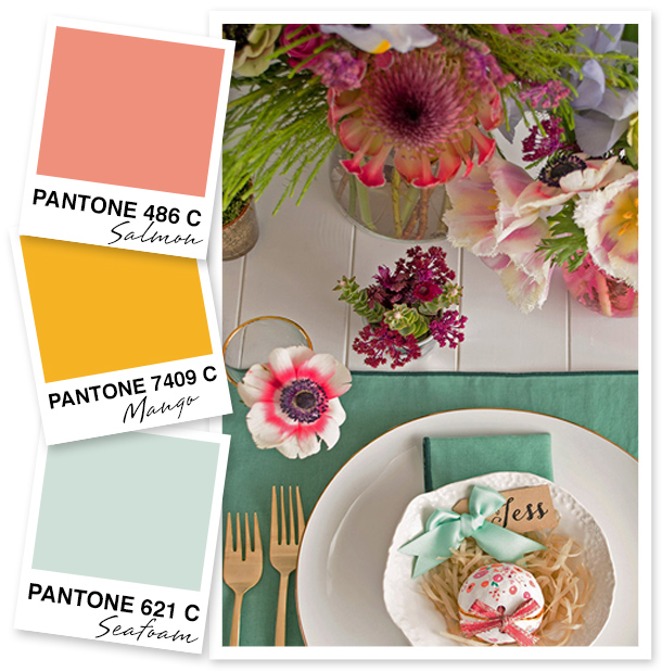 Cannot get enough of this gorgeous color palette!