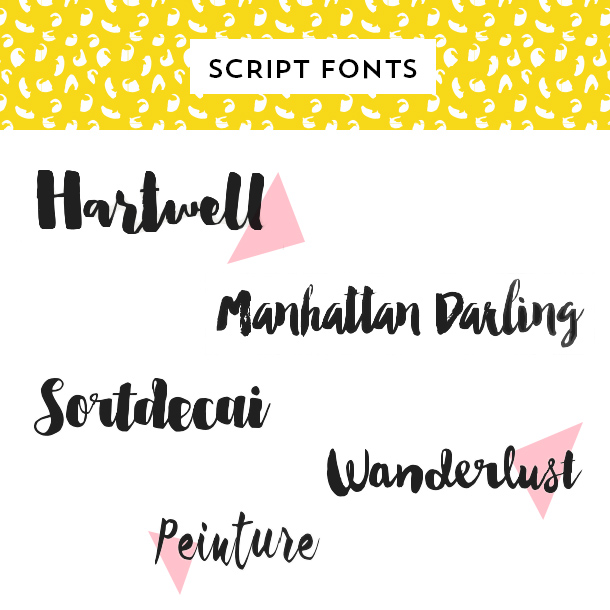 Looking For The Perfect Script Font Try One Of These Beautiful Typefaces That Are Inspired