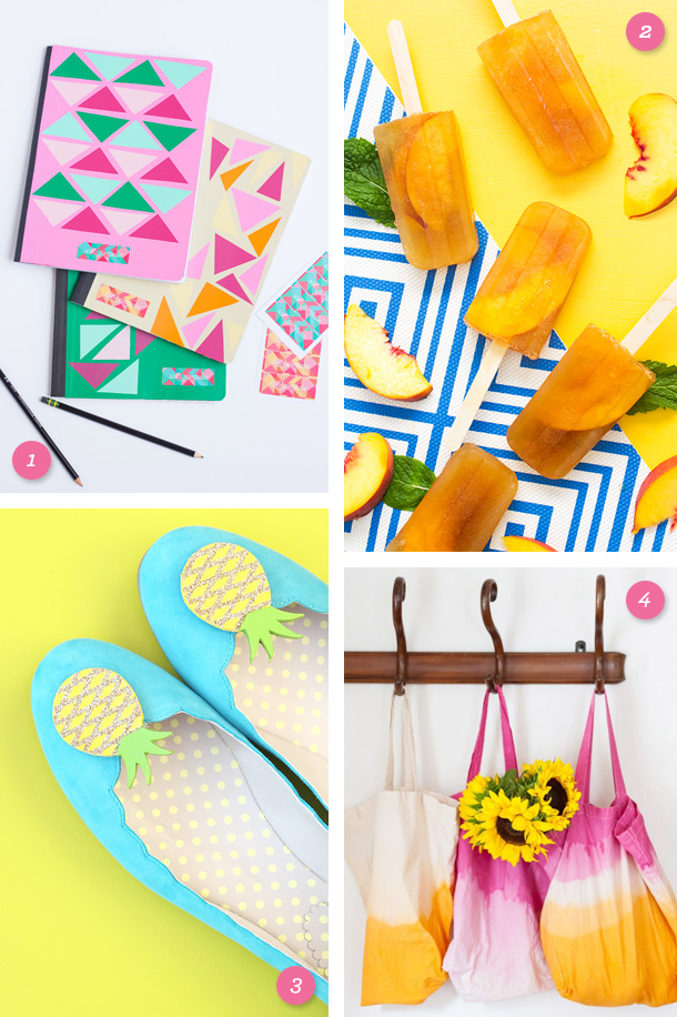 Savor the last bits of summer and get ready for back to school with one of these fun and easy DIY projects! Click through for links to each one.