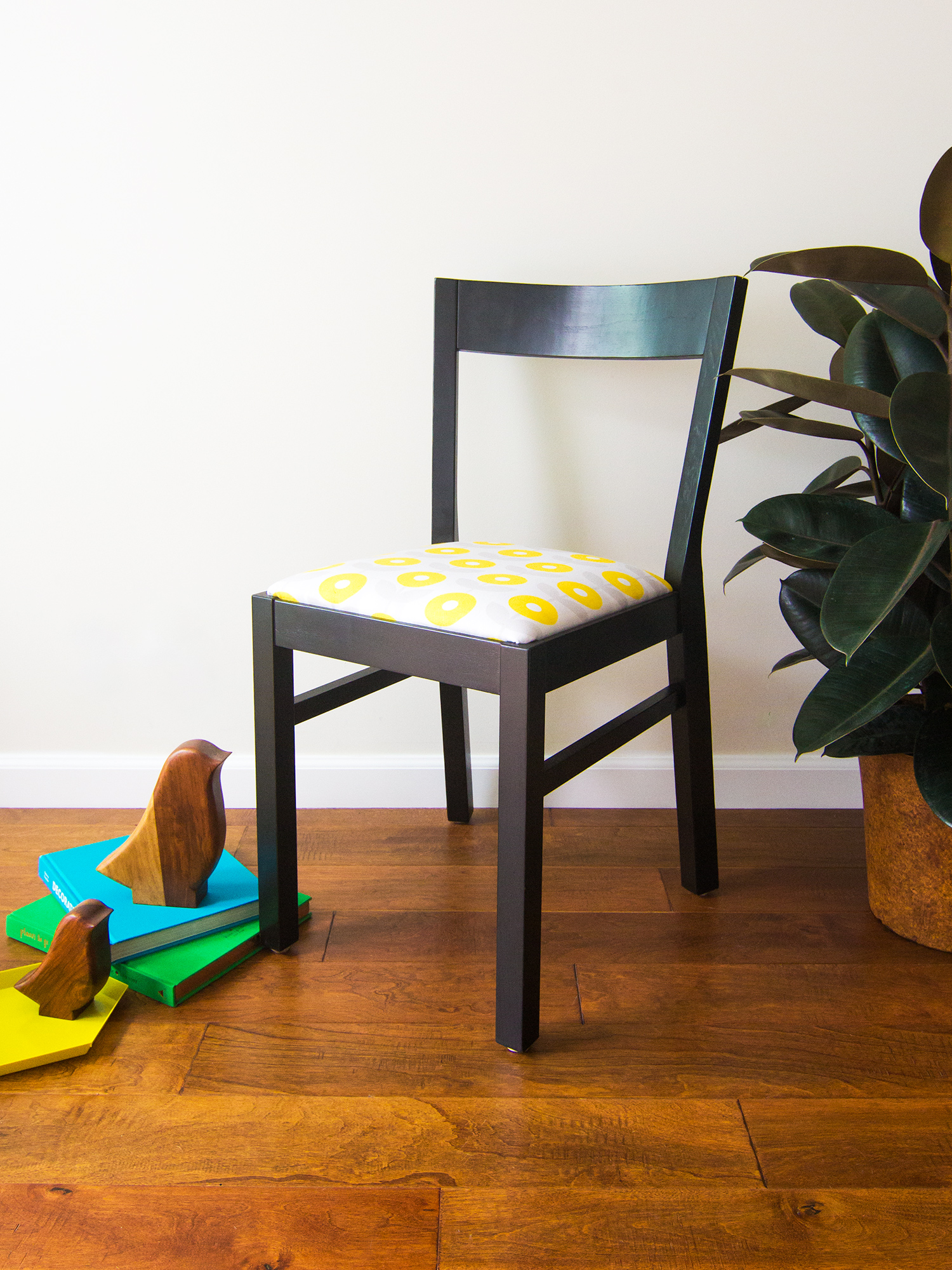 DIY Upholstered Dining Room Chairs