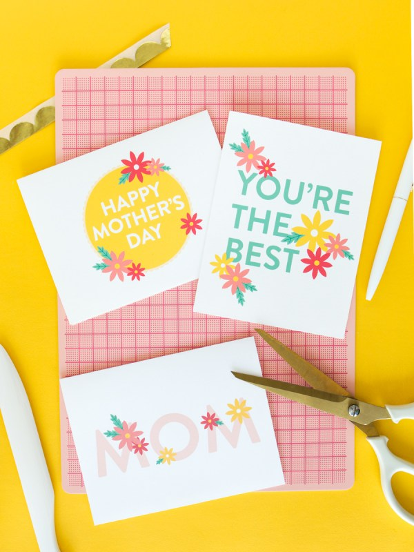 Printable Mother's Day Cards - Sarah Hearts
