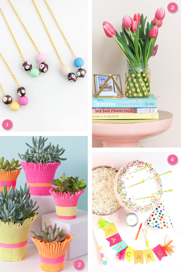 Create something colorful! Try making one of these beautiful and easy DIY projects this weekend.