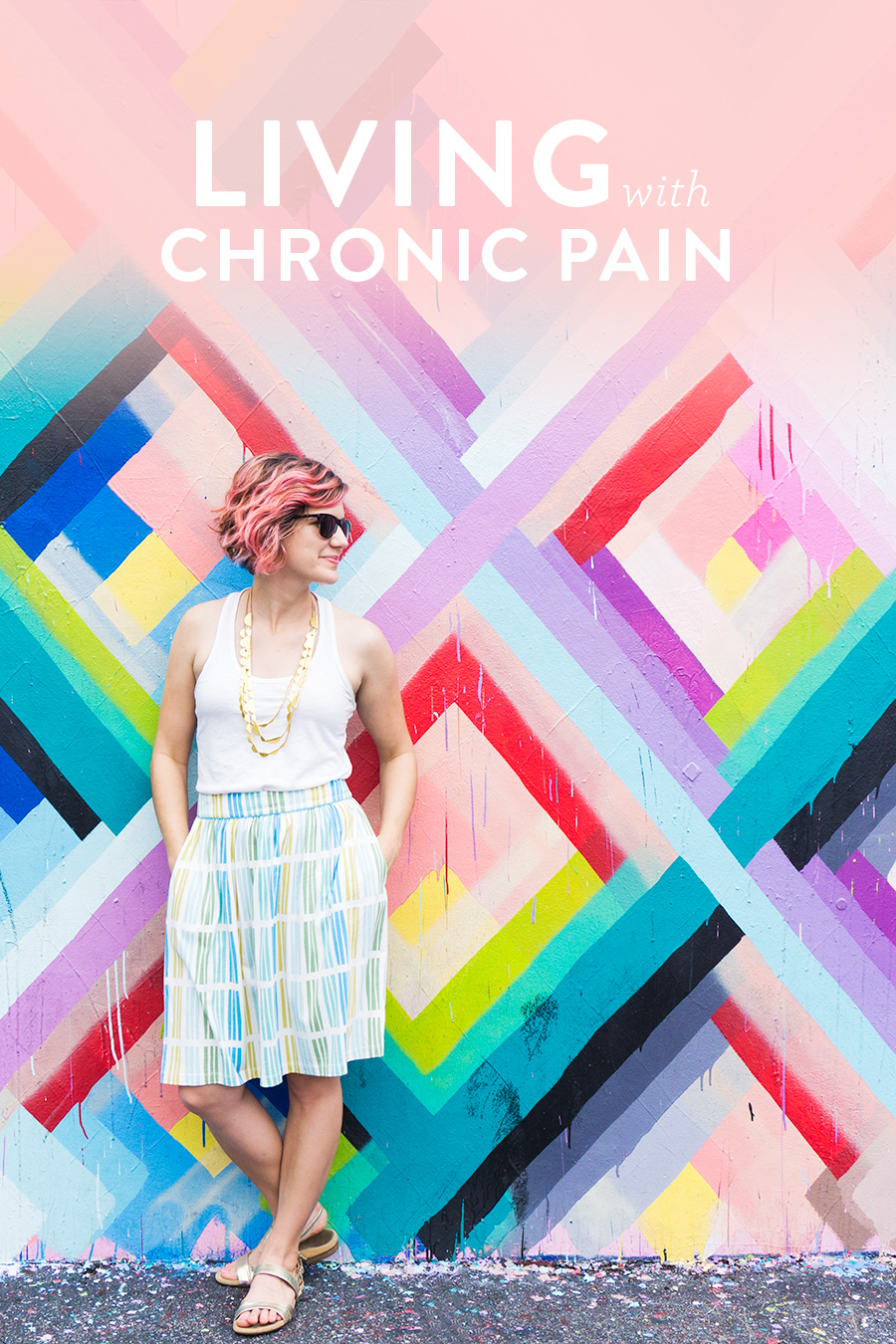 DIY Blogger Sarah Khandjian shares an update about living with chronic foot pain since she was a child and what's helped her cope.