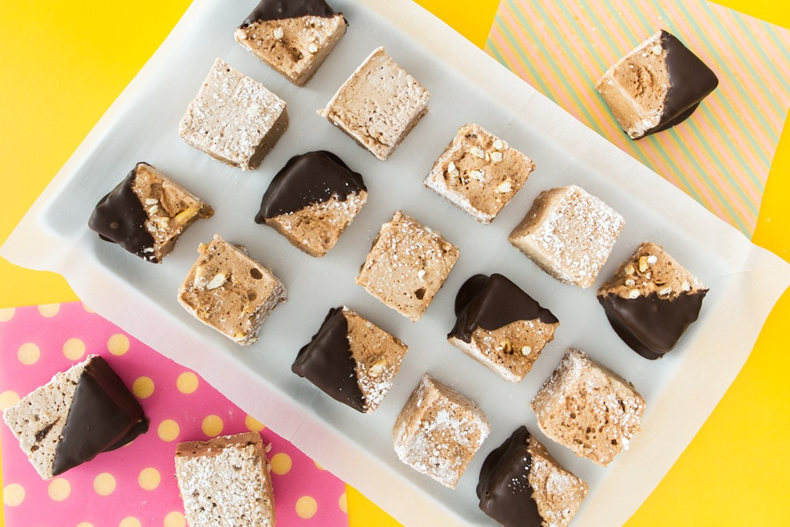 Home to make homemade chocolate Pocky marshmallows - so easy to make they are sure to be your new favorite treat!