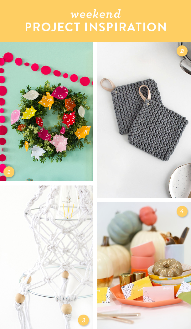 Get your home ready for the Thanksgiving holiday by trying one of these pretty DIY projects this weekend!