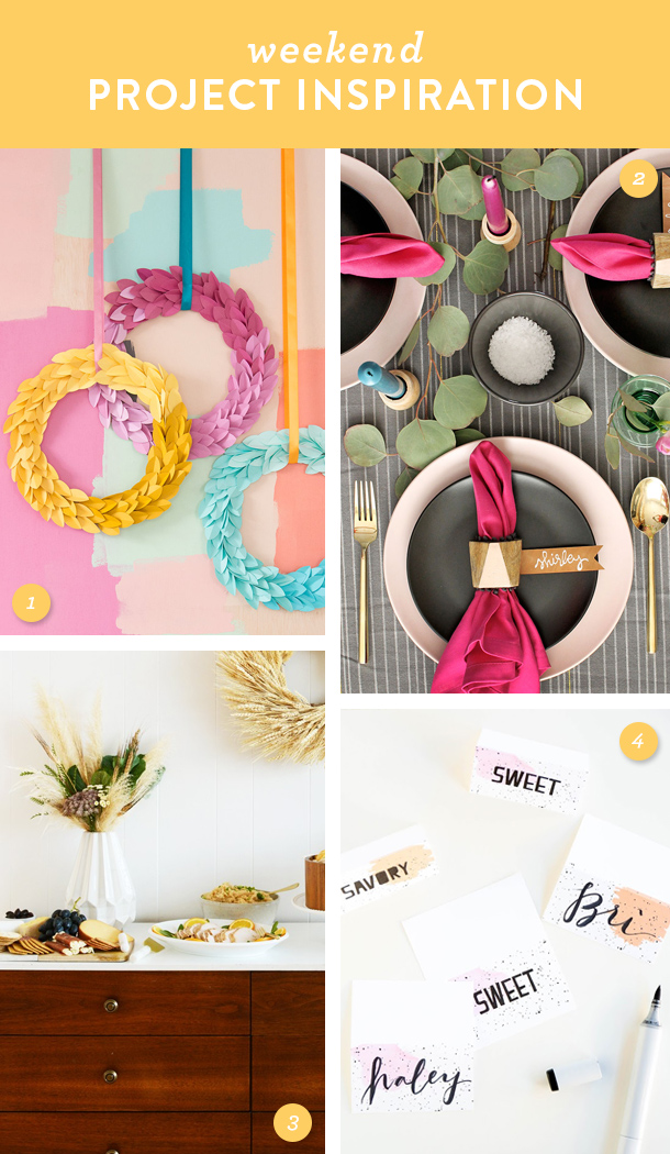 Get your home ready for Thanksgiving and try one these DIY projects this weekend!