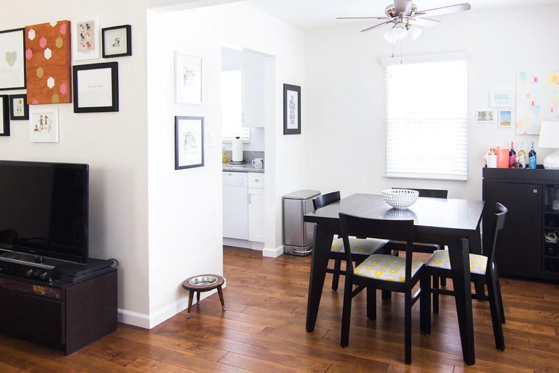 Take a tour of blogger Sarah Hearts' Venice, California rental bungalow.
