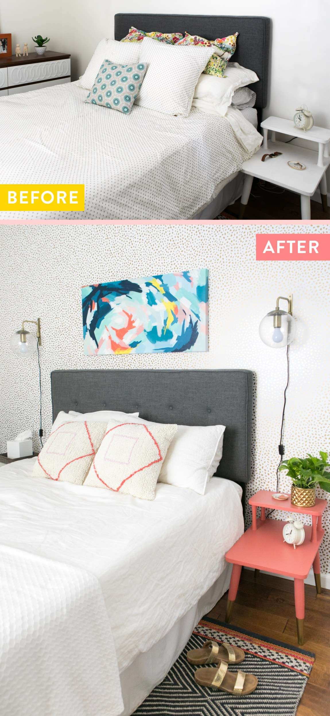 Loving this master bedroom refresh with @devinecolor items from @target