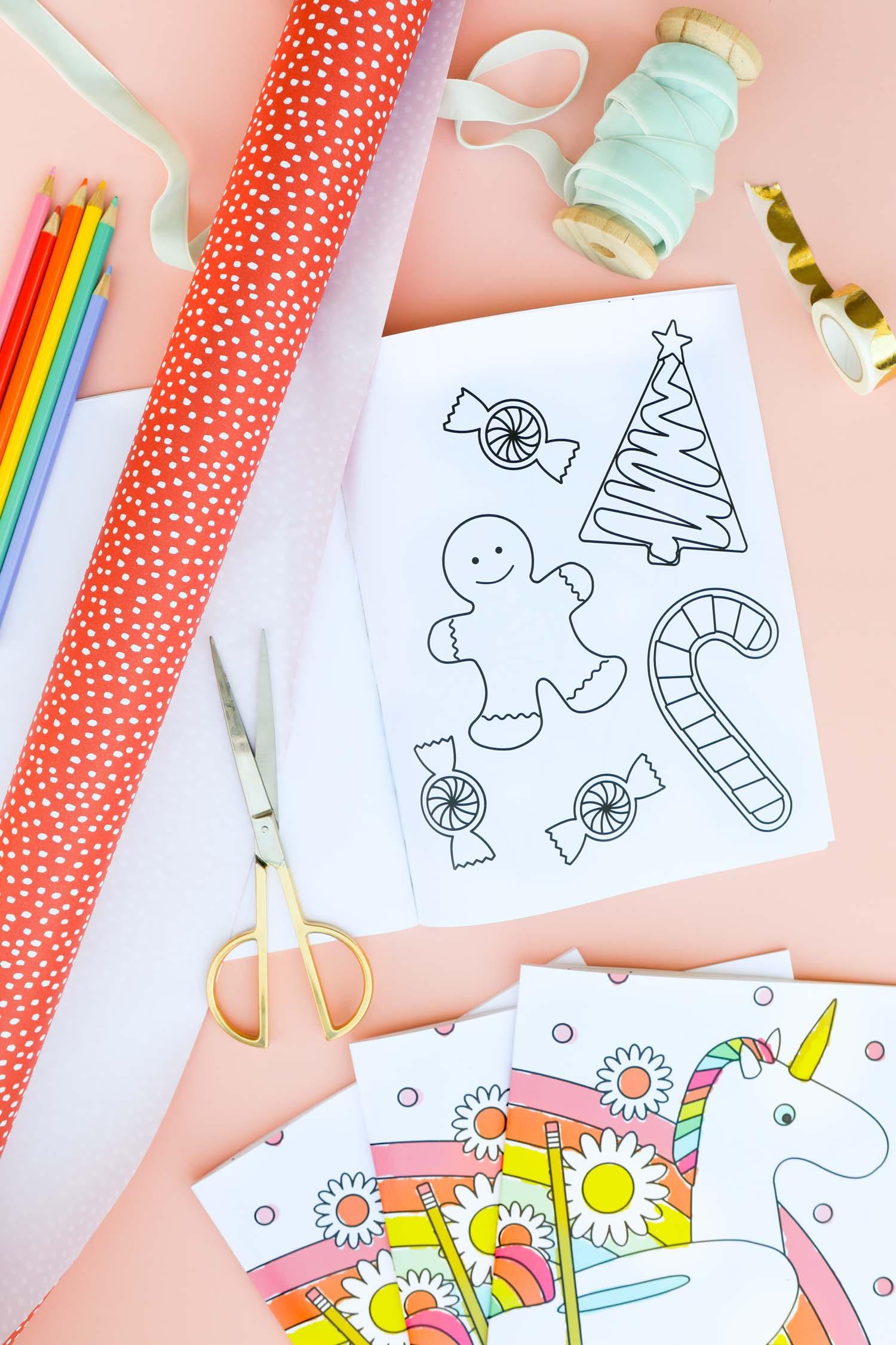 - DIY Coloring Book With Blurb - Sarah Hearts
