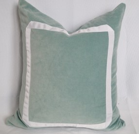 Border pillow $30 + materials