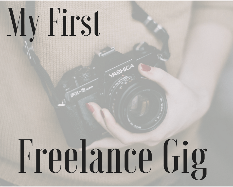 Freelance Photography: A Newbie's First Journey