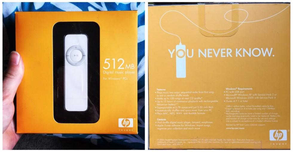 Apple's iPod Shuffle + HP: The Mystery - Sarah Iddings
