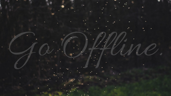 Going Offline.