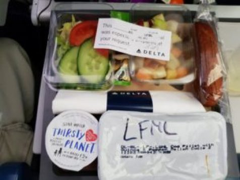 Special Meal Delta Airlines (Low Fat)