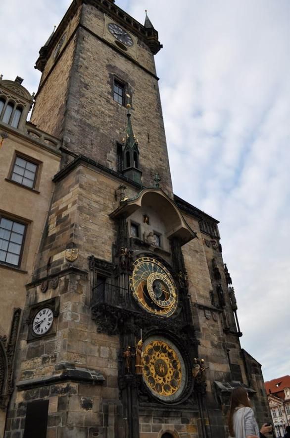 Visiting the Astronomical Clock in Prague