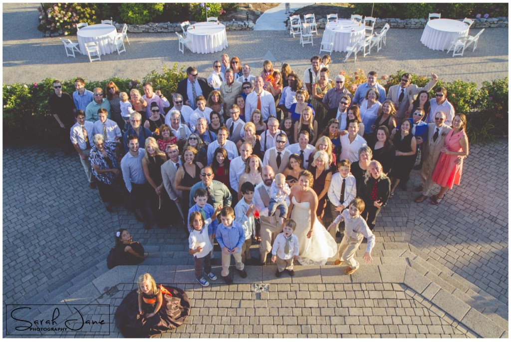 image of wedding guests at Frenchs Point