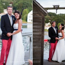 Nautical Wedding Maine Photographer