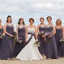 Purple Wedding details Maine Wedding in Wells