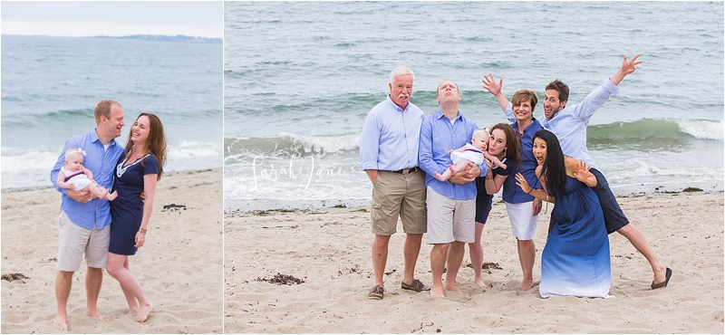 Sarah Jane Photography | Bayview Beach Saco Maine Family Portrait