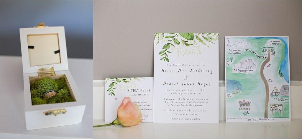 Portland Maine Wedding Details
